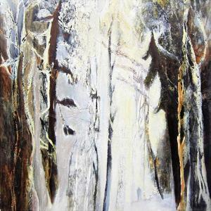 Winter in the Forest by Kathleen Cloutier