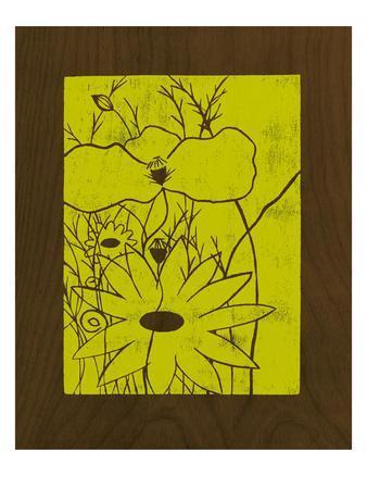 Wenge Wood Floral 1-Lime