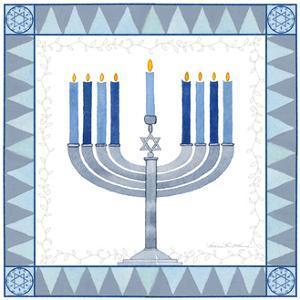 Celebrating Hanukkah III by Kathleen Parr McKenna