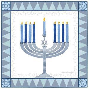 Celebrating Hanukkah III by Kathleen Parr McKenna