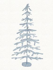 Coastal Holiday Tree IV Red by Kathleen Parr McKenna