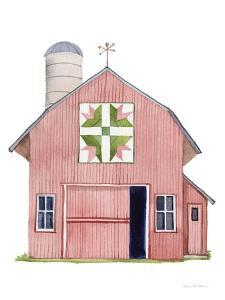 Life on the Farm Barn Element I by Kathleen Parr McKenna