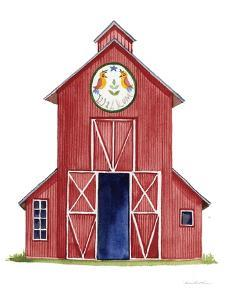 Life on the Farm Barn Element II by Kathleen Parr McKenna