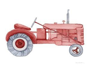 Life on the Farm Tractor Element by Kathleen Parr McKenna