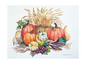 Pumpkin Harvest by Kathleen Parr McKenna