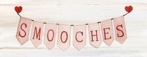 Rustic Valentine Banner III by Kathleen Parr McKenna