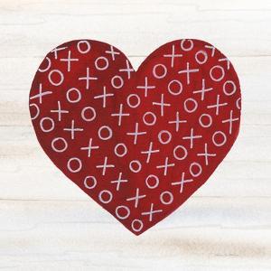 Rustic Valentine Heart IV by Kathleen Parr McKenna