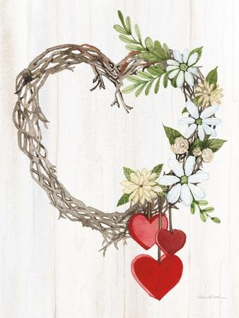 Rustic Valentine Heart Wreath II