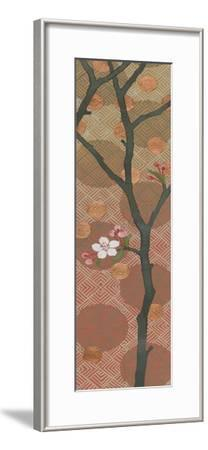 Cherry Blossoms Panel II One Blossom