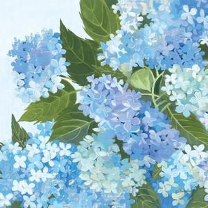 Decorative Hydrangea I by Kathrine Lovell