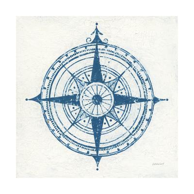 Indigo Gild Compass Rose II