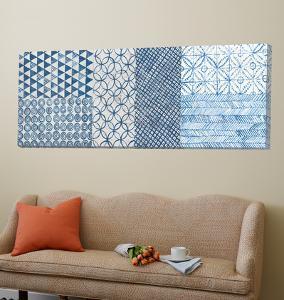 Maki Tile Panel I by Kathrine Lovell
