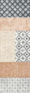 Maki Tile Panel II Warm by Kathrine Lovell