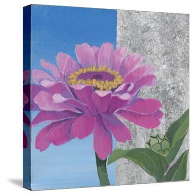 Zinnia Pink and Silver