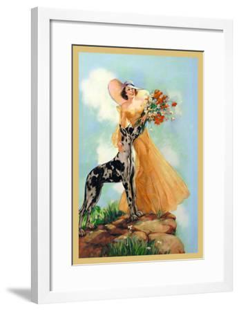Kathryn and Chester- Pene-Framed Art Print