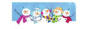 Five Little Snowmen - Turtle by Kathryn Mitter