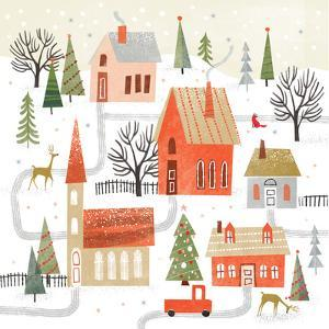 Holiday Scene by Kathryn Selbert