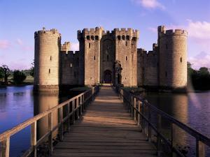 Bodiam Castle, East Sussex, England, United Kingdom by Kathy Collins