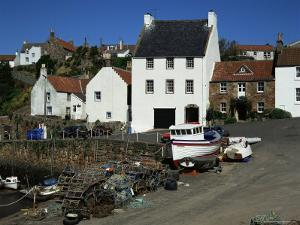 Crail Harbour, Neuk of Fife, Scotland, United Kingdom by Kathy Collins