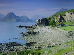 Elgol and the Cuillin Hills, Isle of Skye, Highlands Region, Scotland, UK, Europe by Kathy Collins