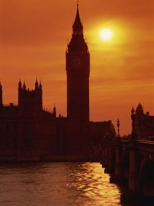 Houses of Parliament, Westminster, UNESCO World Heritage Site, London, England, United Kingdom by Kathy Collins