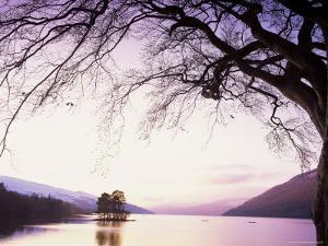 Loch Tay in the Evening, Tayside, Scotland, United Kingdom by Kathy Collins