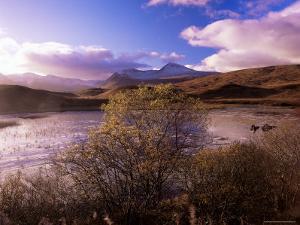 Rannoch Moor, Black Mount, Strathclyde, Scotland, United Kingdom by Kathy Collins