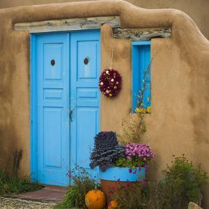 Blue Door I by Kathy Mahan