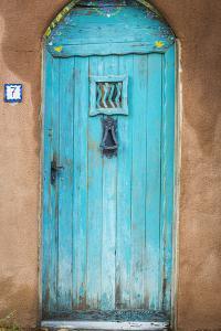 Blue Door III by Kathy Mahan