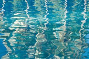Blue Reflections I by Kathy Mahan