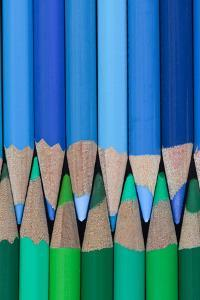 Colored Pencils I by Kathy Mahan