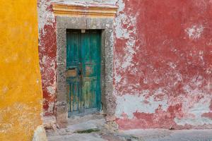 Colorful Door by Kathy Mahan