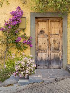 Doorway in Mexico I by Kathy Mahan