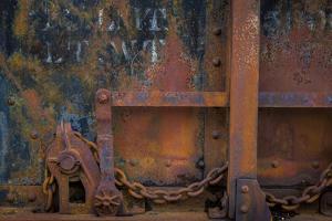 Historic Railroad III by Kathy Mahan