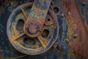 Historic Railroad IV by Kathy Mahan