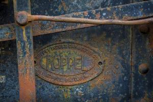 Historic Railroad V by Kathy Mahan