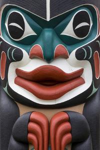 Native American Todem III by Kathy Mahan