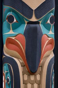 Native American Todem IV by Kathy Mahan