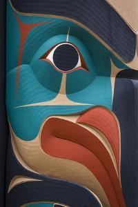 Native American Todem IX by Kathy Mahan