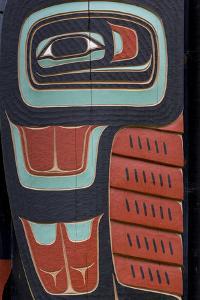 Native American Todem VIII by Kathy Mahan