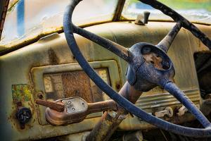 Old Truck IV by Kathy Mahan