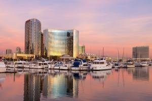 San Diego Waterfront II by Kathy Mahan