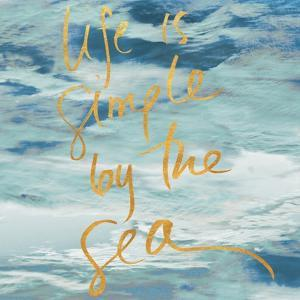 Life is Simple By the Sea by Kathy Mansfield
