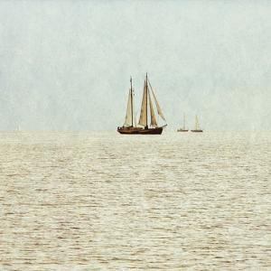 Sail Boats I by Kathy Mansfield