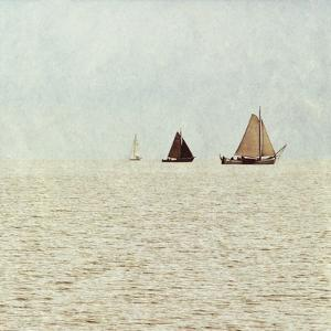 Sail Boats II by Kathy Mansfield