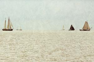 Sail Boats by Kathy Mansfield