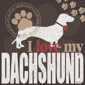 Dachshund by Kathy Middlebrook