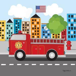 Fire Truck by Kathy Middlebrook