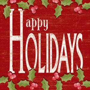 Happy Holidays by Kathy Middlebrook