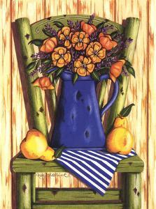 Old Wooden Chair by Kathy Middlebrook
